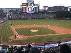 Best View at Coors Field - Section 227