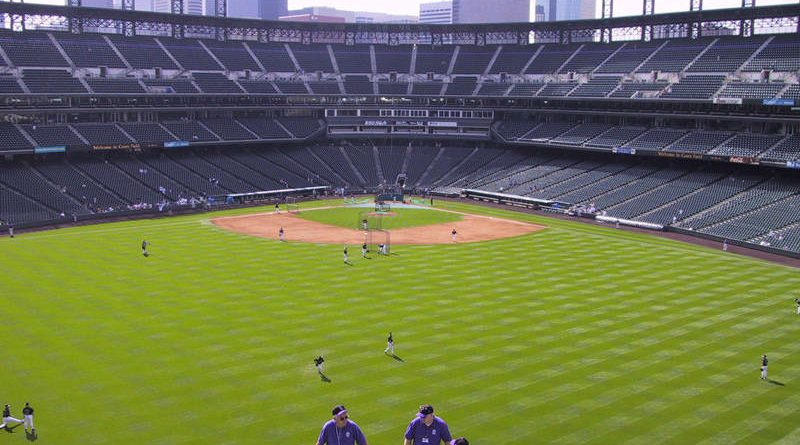 View From Rockpile at Coors Field